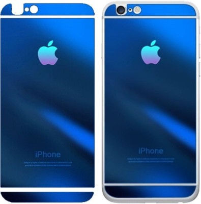 JSACCESSORIESHUB Tempered Glass Guard for Iphone 6 6S BLUE