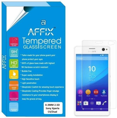 Affix FAG0073 Premium Tempered Glass for Sony Xperia C4/Sony Xperia C4 Dual (5.5