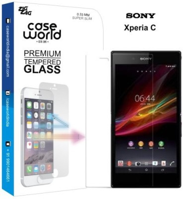 Case World TGXC Tempered Glass for Sony Xperia C