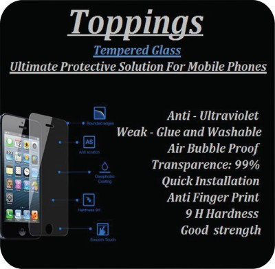Toppings Tempered Glass 15 Tempered Glass for HTC Desire 820