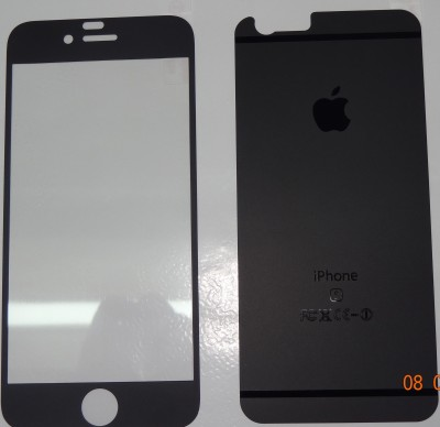 Accessories Hub AP 2006 Tempered Glass for Apple I Phone 6/6s Black Matt Tempered Glass