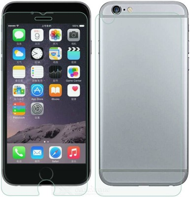 Accessories Hub AP 2002 Tempered Glass for Apple I Phone 6/6s Front Back Curve Tempered glass