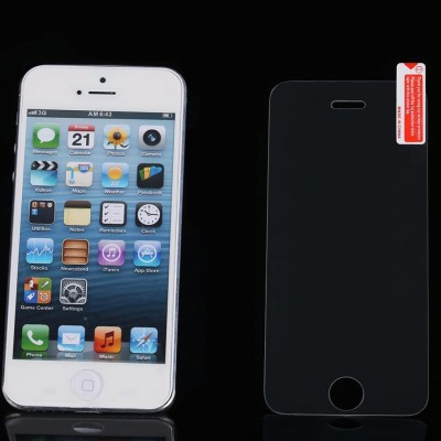 MobileCrazy SG2-002 Tempered Glass for Apple iPhone 5, Apple iPhone 5S, Apple iPhone 5C