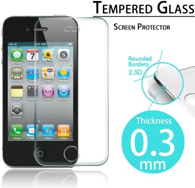 Hook Tempered Glass Guard for Apple Iphone 4s