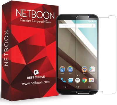 NETBOON HD Crystal Clear Tempered Glass for Motorola Nexus 6