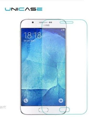 Unicase Tempered Glass Guard for Samsung Galaxy A8