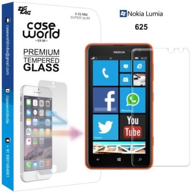 Case World Tempered Glass Guard for Nokia Lumia 625