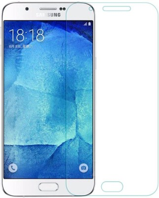 Sun Mobisys A8_Glass_Clr Tempered Glass for Samsung Galaxy A8