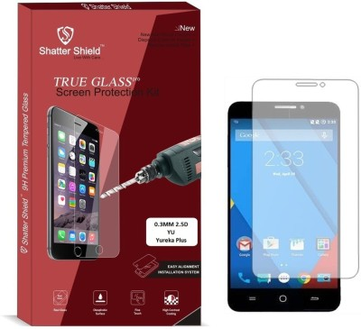 Shatter Shield Tempered Glass Guard for YU Yureka Plus (5.5