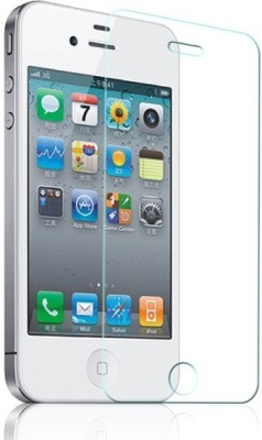 Vardhman Enterprises TEMP11 Tempered Glass for iPhone-4