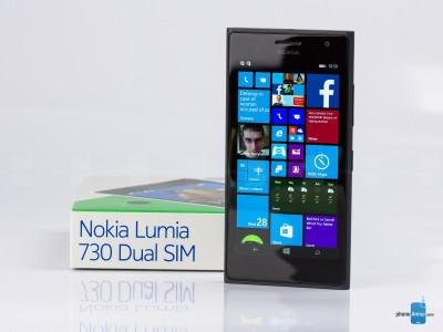 RVR 730-6640 Tempered Glass for Nokia Lumia Dual Sim 730