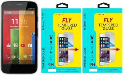 Fly XT1033 9H Pro 0.33MM Pack of 2 Tempered Glass for Motorola Moto G1 (1st Generation)