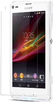 BrainBell CURVE TEMPERED GLASS-60 Tempered Glass for Sony Experia L