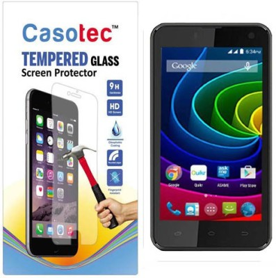 Casotec Tempered Glass Guard for Micromax Bolt Q335