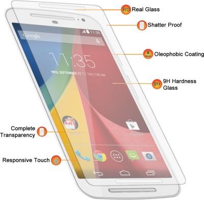 SHOPPING GATE Motorola X-Play Tempered Glass for Motorola moto X-Play