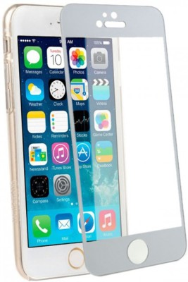 WowObjects AI6PLUS_SILVER_TG_14 Tempered Glass for Apple iPhone 6 Plus