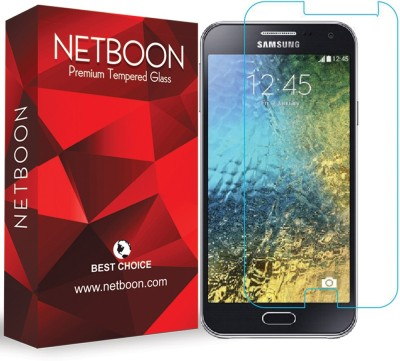 NETBOON Tempered Glass Guard for Samsung Galaxy E7