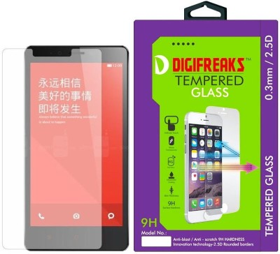 Digifreaks NOTE3G/4G Oil Coated Screen Protector Tempered Glass for Xiaomi Redmi Note 3G/4G