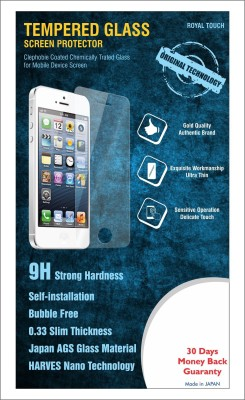 Royal Touch 111 Anti shatter 0.33mm 9h Hard Tempered Glass for Micromax Yu Yureka
