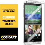 Coskart Tempered Glass Guard for HTC D 5...