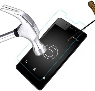 lively links se-85 Tempered Glass for micromax canvas silver 5-q450