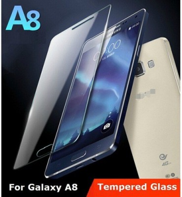 LXR.. HD.... SM-A8 Tempered Glass for Cover for Samsung Galaxy A8