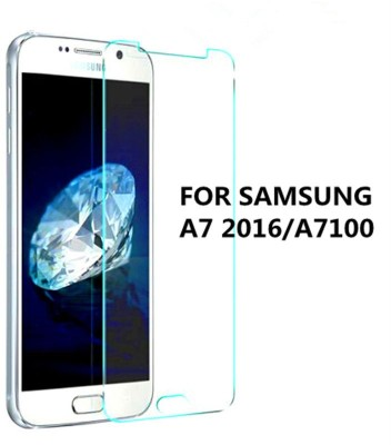 GG ENTERPRISES A7 2016 2.5D Curved Tempered Glass for Samsung Galaxy A7 2016