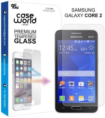 Case World TGC2 Tempered Glass for Samsung Galaxy Core 2