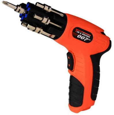 Telebuy Tim & Brown Cordless Impact Screwdriver
