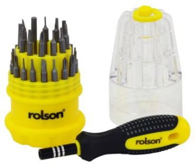 Rolson 28227 Screwdriver Bit Set