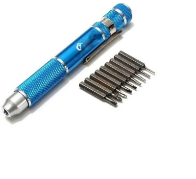 Shrih 10 in 1 Electric Repair Tools Precision Ratchet Screwdriver Set