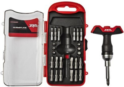 Bosch - Skil 28 Piece T Handle Set (Red ...