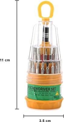Jackly Ratchet Screwdriver Set(Pack of 31)
