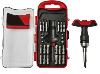 Shrih T-handle 28 Piece Standard Screwdriver Set