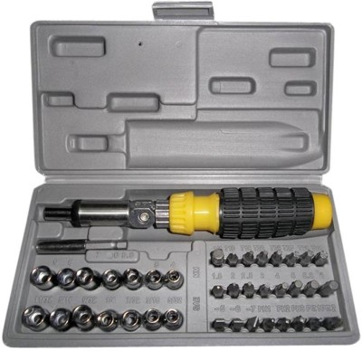 Smart Products ExtraPower Ratchet Screwdriver Set(Pack of 41)