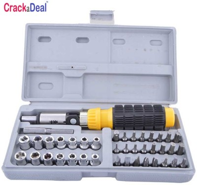 CrackaDeal Aiwa 41 Socket Set(Pack of 41)