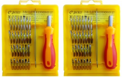 Jackly 6032-A 32 in 1-2Pcs Combination Screwdriver Set