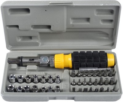 Smart Products Ratchet Screwdriver Set(Pack of 41)
