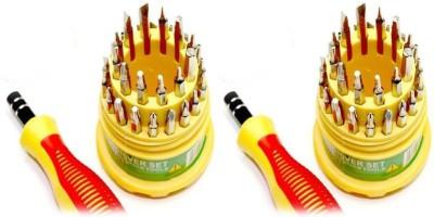 Jackly 31in1-2Pcs Ratchet Screwdriver Set