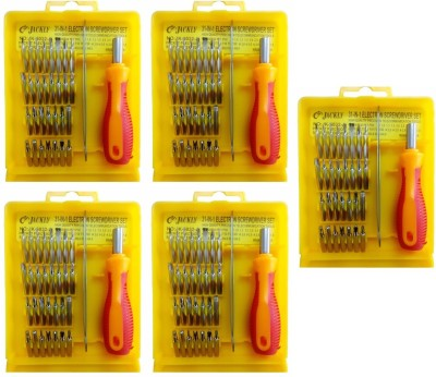 Jackly 6032-A 32 in 1-5Pcs Combination Screwdriver Set