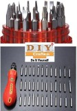 DIY Crafts Screwdriver Long Handle Screw...