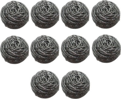 Pranay's Pack of 10 Stainless Steel Scrubber Scrub Pad