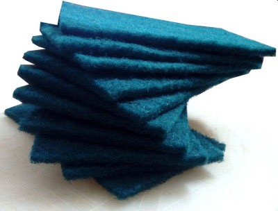 Goldcave Scrub Pad(Green Pack of 10)