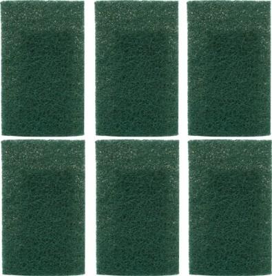 Pranay's Large CU-6 Scrub Pad(Green Pack of 6)