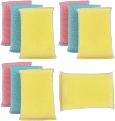 Aum Cleen Scrub Sponge(Pack of 10)