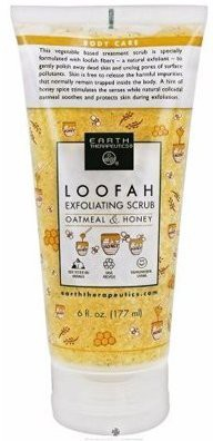 Earth Therapeutics loofah exfoliating liquid scrub oatmeal and honey Scrub(180 ml)