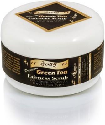 Adidev Herbals Devyam Skin Glow Green Tea Fairness  Scrub