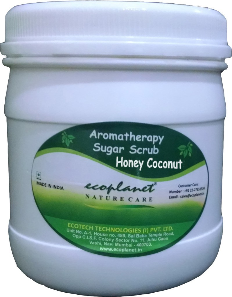 Ecoplanet Aromatherapy Sugar Base Honey Coconut Scrub(1000 g)