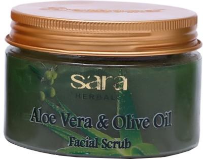 Sara Aloe Vera & Olive Oil Facial  Scrub