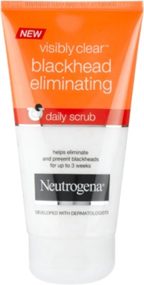 Neutrogena Visibly Clear Blackhead Eliminating Daily Scrub(150 ml)